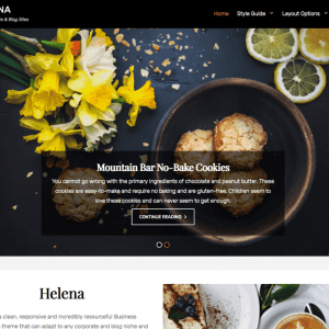 Free Helena WordPress Theme