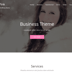 Free NovelPink WordPress Theme