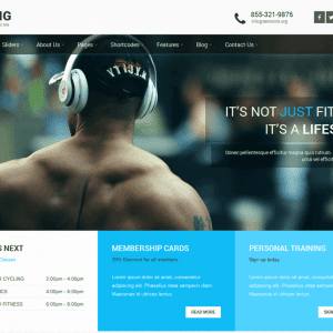 Free SKT Strong WordPress Theme