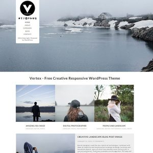 Free Vertex WordPress Theme