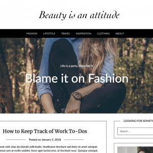 Free Fashionpressly WordPress Theme