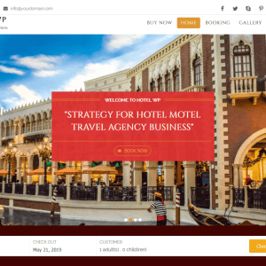 Free Hotel WP Lite WordPress theme