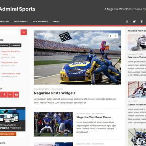 Free Admiral WordPress Theme