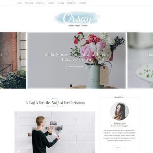 Free Orsay WordPress Theme