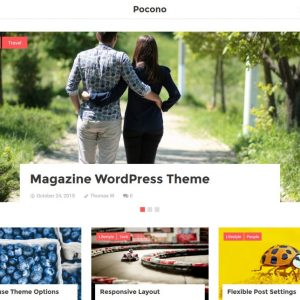 Free Pocono WordPress Theme