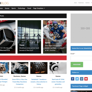 Free Videoblog WordPress Theme
