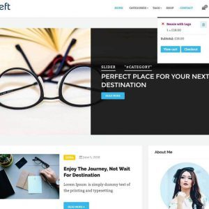 Free Deft WordPress Theme