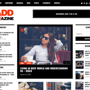 Free Madd Magazine WordPress Theme