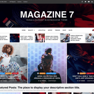 Free Magazine 7 WordPress Theme