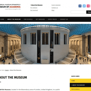 Free Museo WordPress Theme