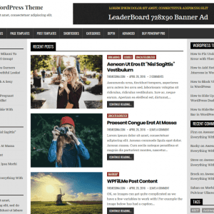 Free PowerWP WordPress Theme